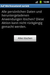 Samsung Galaxy Ace - Basisfunktionen - Hard- und Softreset - Schritt 8