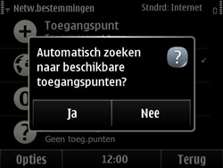Nokia E6-00 - Wifi - handmatig instellen - Stap 7