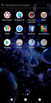 Sony Xperia XZ2 - Applications - Créer un compte - Étape 3