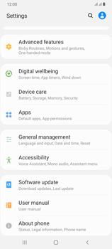 Samsung Galaxy A70 - Device - Software update - Step 5