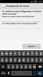 Wiko Stairway - E-mail - Configurar correo electrónico - Paso 18