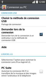 LG F70 - Internet et connexion - Utiliser le mode modem par USB - Étape 10