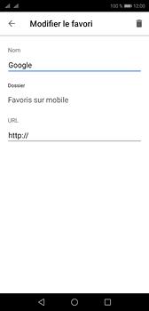 Huawei P20 - Internet - navigation sur Internet - Étape 9