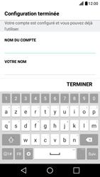 LG X Screen - E-mail - Configuration manuelle - Étape 17
