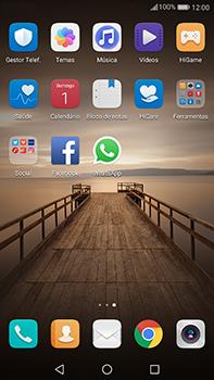 Huawei Mate 9 - Aplicações - Como configurar o WhatsApp -  4