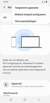 Samsung galaxy-a8-2018-sm-a530f-android-pie - WiFi - Mobiele hotspot instellen - Stap 8