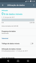 Sony Xperia XZ - Android Nougat - Internet no telemóvel - Como ativar os dados móveis -  5