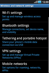 Samsung S5830 Galaxy Ace - Internet - Enable or disable - Step 5