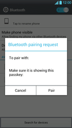 LG P880 Optimus 4X HD - Bluetooth - Pair with another device - Step 8