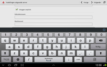 Samsung N8020 Galaxy Note 10-1 LTE - E-mail - Handmatig instellen - Stap 14