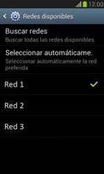 Samsung Galaxy S3 Mini - Red - Seleccionar una red - Paso 10
