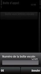 Nokia X6-00 - Messagerie vocale - configuration manuelle - Étape 8