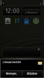 Nokia E7-00 - MMS - automatisch instellen - Stap 3