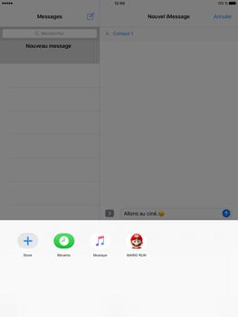 Apple iPad Pro 9.7 - iOS 10 - iOS features - Envoyer un iMessage - Étape 21