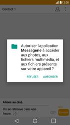 LG G5 SE - Android Nougat - Mms - Envoi d
