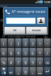 Samsung S5830 Galaxy Ace - Messagerie vocale - configuration manuelle - Étape 7