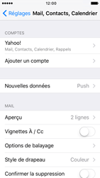 Apple iPhone 5s iOS 9 - E-mail - Configuration manuelle (yahoo) - Étape 8