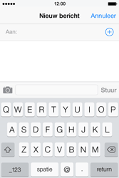 Apple iPhone 4S iOS 7 - MMS - hoe te versturen - Stap 3