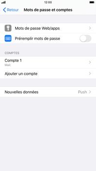 Apple iPhone 8 Plus - iOS 13 - E-mail - Configuration manuelle - Étape 25