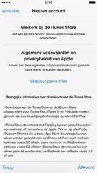 Apple iPhone 6 - Applicaties - Account instellen - Stap 11
