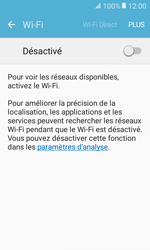 Samsung Galaxy Xcover 3 VE - WiFi et Bluetooth - Configuration manuelle - Étape 5