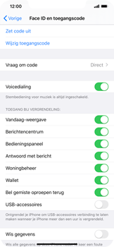 Apple iPhone XR - iOS 13 - Beveiliging - stel in of wijzig pincode voor je toestel - Stap 8