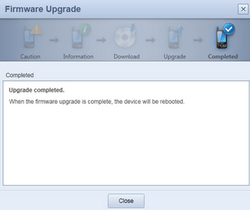 Samsung I5800 Galaxy Apollo - Software - installeer firmware update - Stap 7