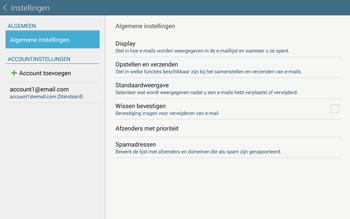 Samsung Galaxy Tab S 10.5 4G (SM-T805) - E-mail - Instellingen KPNMail controleren - Stap 7