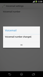 Sony C6903 Xperia Z1 - Voicemail - Manual configuration - Step 9