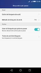 Huawei Y6 - Segurança - Como ativar o código de bloqueio do ecrã -  10