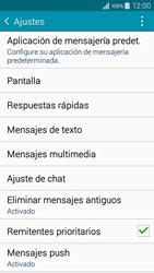 Samsung Galaxy A3 - Mensajería - Configurar el equipo para mensajes de texto - Paso 6