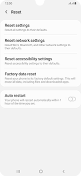 Samsung Galaxy A50 - Device - Factory reset - Step 7