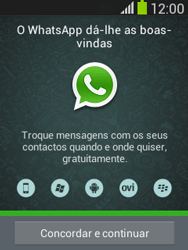 Samsung Galaxy Pocket Neo - Aplicações - Como configurar o WhatsApp -  5