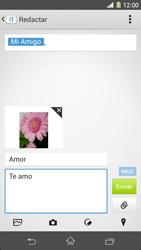 Sony Xperia Z1 - Mensajería - Escribir y enviar un mensaje multimedia - Paso 19