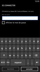 Nokia Lumia 1520 - Wifi - configuration manuelle - Étape 6