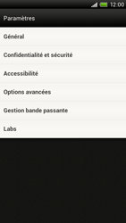 HTC S720e One X - Internet - Configuration manuelle - Étape 18