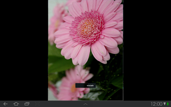 Samsung P7500 Galaxy Tab 10-1 - Bluetooth - Transferir archivos a través de Bluetooth - Paso 11