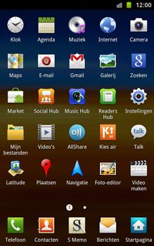 Samsung N7000 Galaxy Note - Internet - hoe te internetten - Stap 2