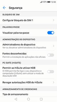 Huawei Mate 9 - Segurança - Como ativar o código PIN do cartão de telemóvel -  5