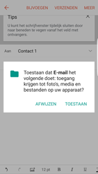 Samsung Galaxy S7 edge (SM-G935F) - E-mail - Bericht met attachment versturen - Stap 12