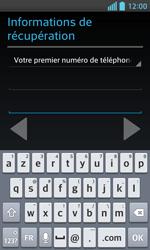 LG Optimus L5 II - Premiers pas - Créer un compte - Étape 18