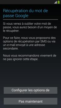 Samsung Galaxy Note 3 - Premiers pas - Créer un compte - Étape 16