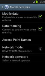 Samsung I8190 Galaxy S III Mini - Network - Change networkmode - Step 7