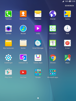 Samsung Galaxy Tab A 9.7 (SM-T555) - Contacten en data - Contacten overzetten via Bluetooth - Stap 3