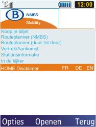 Samsung S5610 Primo - Internet - internetten - Stap 16