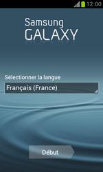Samsung Galaxy Trend - Premiers pas - Créer un compte - Étape 2