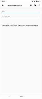 Sony xperia-1-dual-sim-j9110 - E-mail - Bericht met attachment versturen - Stap 6