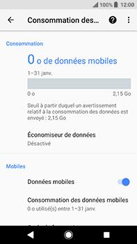 Sony Xperia XA2 Ultra - Internet et connexion - Désactiver la connexion Internet - Étape 6
