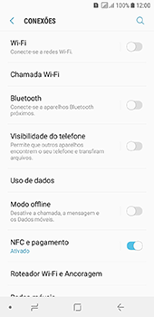 Samsung Galaxy J6 - Rede móvel - Como ativar e desativar o modo avião no seu aparelho - Etapa 5