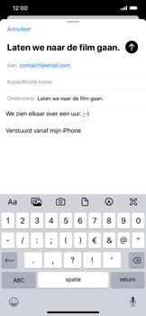 Apple iPhone XR - iOS 13 - E-mail - Bericht met attachment versturen - Stap 8